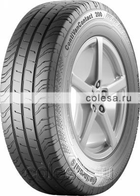 Tire Continental ContiVanContact 200