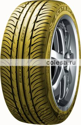 Kumho Ecsta SPT KU31 Smoked Yellow