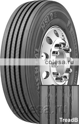 Tire Continental HSL2+ (Eco-Plus)