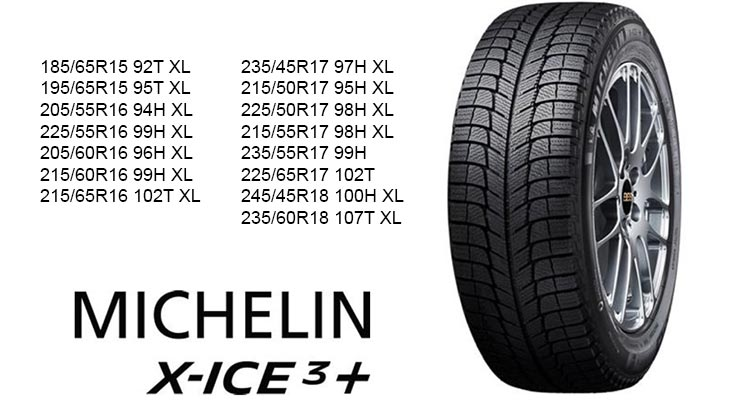 Michelin X-Ice 3+