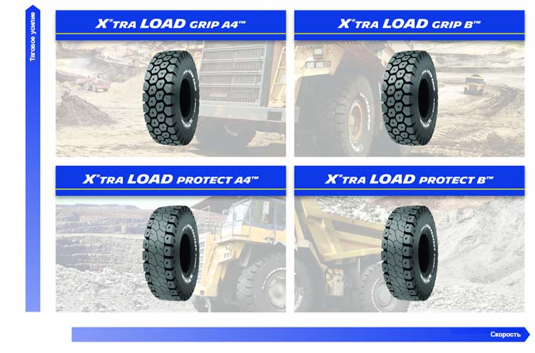 Michelin Xtra Load Grip и Michelin Xtra Load Protect