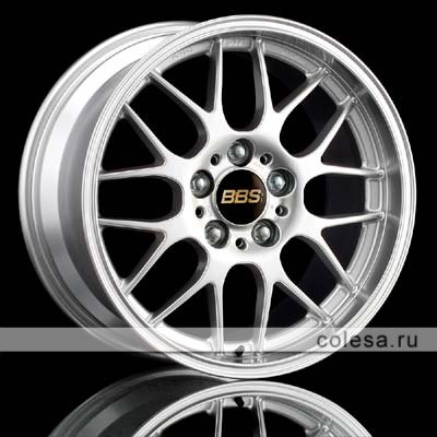 BBS RGR Bright Silver Paint